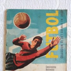 Collezionismo sportivo: ALBUM IN COMPLETO FUTBOL PRIMERA DIVISION Y COPA DE EUROPA EDITORIAL RUIZ ROMERO TIENE 304 DE 397. Lote 224818195