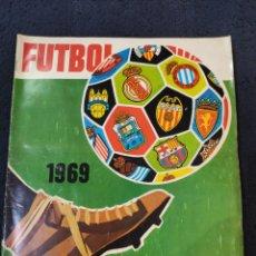 Coleccionismo deportivo: ALBUM DE FÚTBOL CAMPEONATOS NACIONALES 1969, RUIZ ROMERO, INCOMPLETO, EN BUEN ESTADO.. Lote 225020836