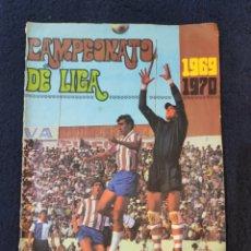 Coleccionismo deportivo: ALBUM DE FÚTBOL CAMPEONATO DE LIGA 69-70. EDITORIAL DISGRA, INCOMPLETO, EN BUEN ESTADO.. Lote 225023558