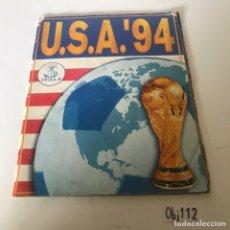 Coleccionismo deportivo: ALBUM INCOMPLETO USA 94. Lote 226336616
