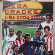 Coleccionismo deportivo: MEGACRACKS 04 05 PANINI CON 532 FICHAS. Lote 226356798