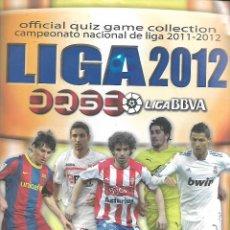 Coleccionismo deportivo: OCASION ALBUM DE LA LIGA 2012 CON 314 FICHAS. Lote 226639870
