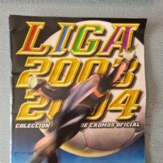 Coleccionismo deportivo: ALBUM DE CROMOS - 2003 2004 03 04 - TODAS LAS VENTANAS COMPLETAS - TODOS PEGADOS - VER FOTOS. Lote 226809995