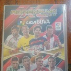 Coleccionismo deportivo: ADRENALYN ALBUM TRADING CARD GAME 2015-16 LA LIGA SANTANDER.. Lote 226846595