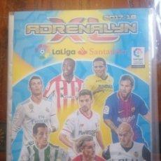 Coleccionismo deportivo: ADRENALYN ALBUM TRADING CARD GAME 2017-18 LA LIGA SANTANDER.. Lote 226852210