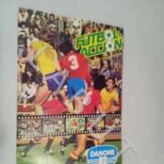 Colecionismo desportivo: FUTBOL EN ACCION VACIO DANONE 82 ALBUM DE CROMOS CR1. Lote 227754560