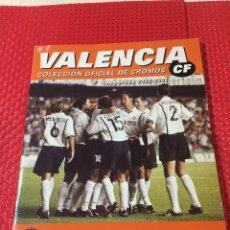 Coleccionismo deportivo: VALENCIA, C. F. - COLECCIÓN OFICIAL DE CROMOS - TEMPORADA 2000-2001 - CON 123 CROMOS. Lote 227775430
