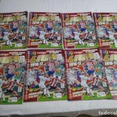 Coleccionismo deportivo: 8 ALBUNES LIGA BBVA 2016-17. Lote 227951125