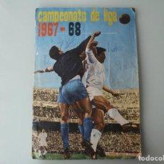 Coleccionismo deportivo: ALBUM CROMOS FHER LIGA 1967-68 EQUIPOS COMPLETOS 13 COLOCAS SOLO FALTAN 5 ESCUDOS. Lote 229352005