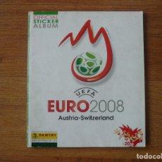 Coleccionismo deportivo: ALBUM UEFA EURO 2008 AUSTRIA SUIZA PANINI - COMPLETO A FALTA DE 14 CROMOS - EUROCOPA FUTBOL 08. Lote 229919090