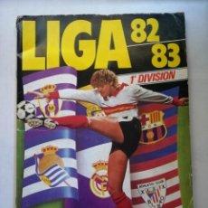 Coleccionismo deportivo: ÁLBUM LIGA 82/83 EDICIONES DEL ESTE. Lote 230102745