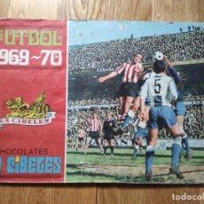 Collectionnisme sportif: ANTIGUO ÁLBUM FÚTBOL CHOCOLATES LA CIBELES 1969 / 70. Lote 230338240