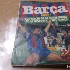 Coleccionismo deportivo: MARADONA EN PORTADA DE CHICLES BARCA LIGA 1983. Lote 230414505
