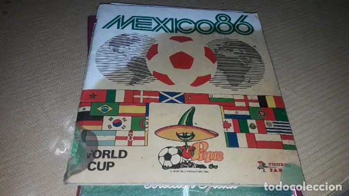 MARADONA EN EL ALBUM MÉXICO 86 DE PANINI (Coleccionismo Deportivo - Álbumes y Cromos de Deportes - Álbumes de Fútbol Incompletos)