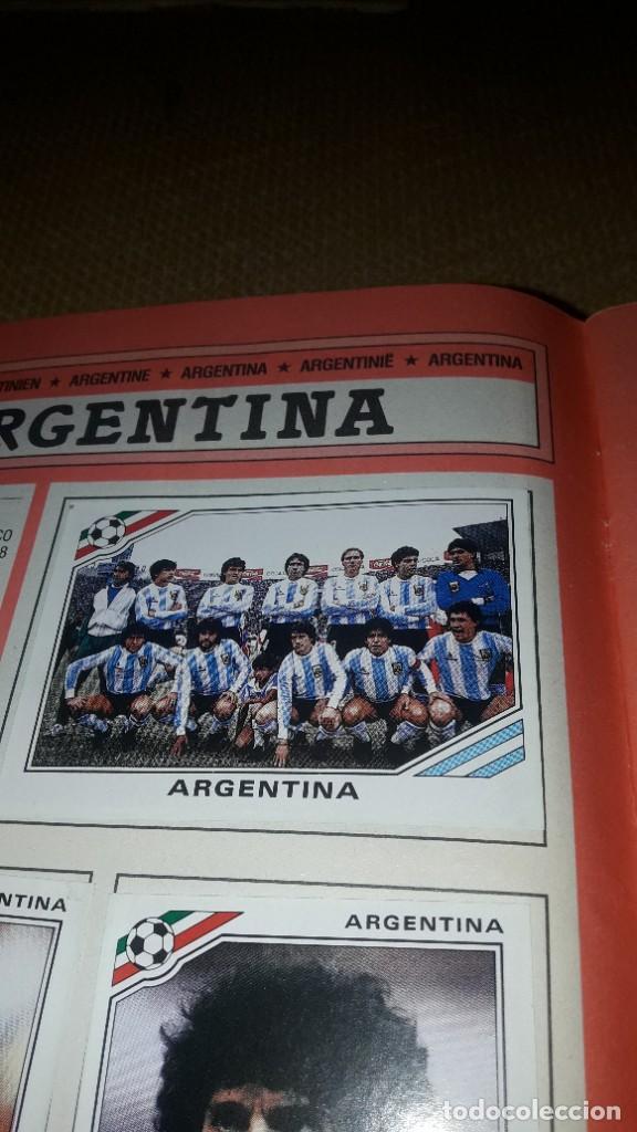 Coleccionismo deportivo: MARADONA EN EL ALBUM MÉXICO 86 DE PANINI - Foto 4 - 230417885