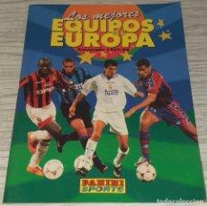 Collezionismo sportivo: ALBUM LOS MEJORES EQUIPOS DE EUROPA TEMPORADA 97-98 - PANINI SPORTS. Lote 230504625