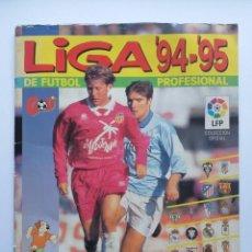 Coleccionismo deportivo: ALBUM FÚTBOL LIGA 94 - 95 DE PANINI 1994 - 1995 INCOMPLETO. Lote 231320205