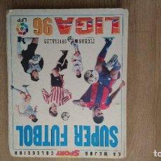 Coleccionismo deportivo: LIGA 95 96 SUPER FUTBOL, LOTE 140 CROMOS. Lote 231808340