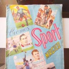 Coleccionismo deportivo: ÁLBUM CROMOS ESTEREOSCÓPICOS FÚTBOL FHER SPORT MÁGICO 1953 VENANCIO KUBALA PUCHADES FALTAN 14. Lote 232463290