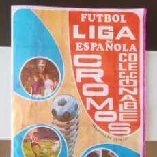 Coleccionismo deportivo: ÁLBUM DE CROMOS VACÍO FÚTBOL 76 77 LIGA ESPAÑOLA 1976 1977 GRAFIMUR COLECCIONABLES PREMIO CAMISETA. Lote 232937420