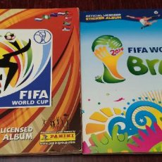Collectionnisme sportif: ALBUM DE CROMOS FIFA WORLD CUP SOUTH AFRICA 2010 Y BRASIL 2014 (INCOMPLETOS) (PANINI). Lote 233029065