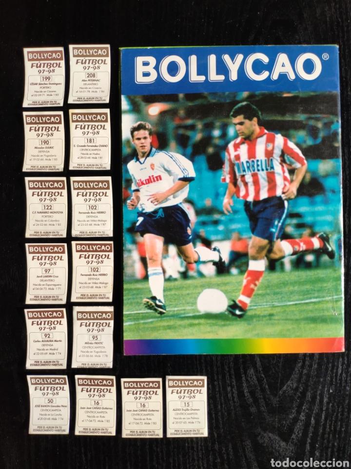 Coleccionismo deportivo: Álbum bollycao incompleto Liga 97-98 - Foto 2 - 233386165