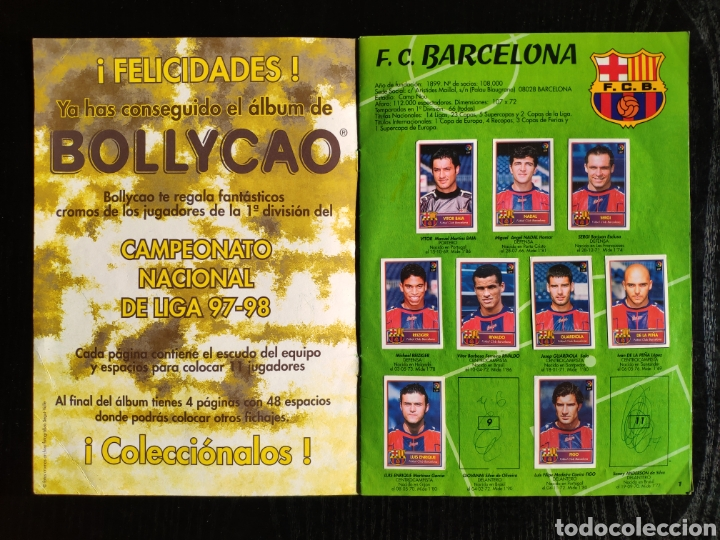 Coleccionismo deportivo: Álbum bollycao incompleto Liga 97-98 - Foto 3 - 233386165