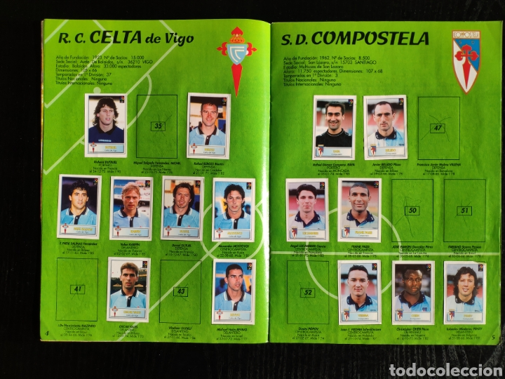 Coleccionismo deportivo: Álbum bollycao incompleto Liga 97-98 - Foto 5 - 233386165