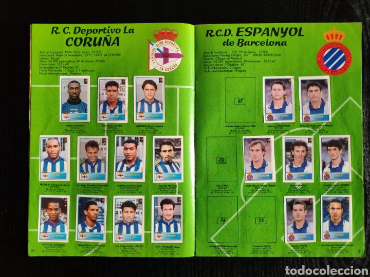 Coleccionismo deportivo: Álbum bollycao incompleto Liga 97-98 - Foto 6 - 233386165