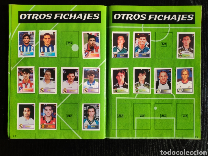 Coleccionismo deportivo: Álbum bollycao incompleto Liga 97-98 - Foto 15 - 233386165
