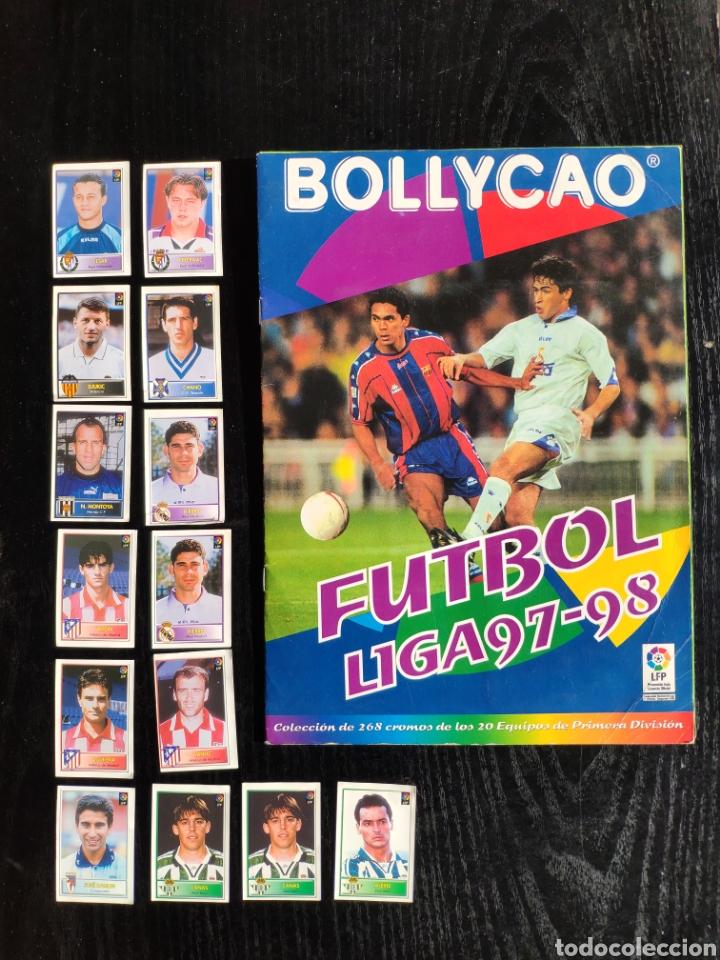 ÁLBUM BOLLYCAO INCOMPLETO LIGA 97-98 (Coleccionismo Deportivo - Álbumes y Cromos de Deportes - Álbumes de Fútbol Incompletos)