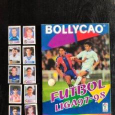 Coleccionismo deportivo: ÁLBUM BOLLYCAO INCOMPLETO LIGA 97-98. Lote 233386165