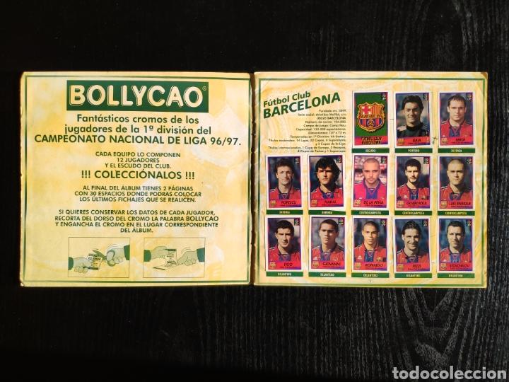 Coleccionismo deportivo: Album bollycao Futbol Liga 96-97 incompleto - Foto 2 - 233386655