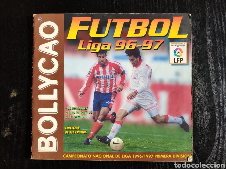 ALBUM BOLLYCAO FUTBOL LIGA 96-97 INCOMPLETO (Coleccionismo Deportivo - Álbumes y Cromos de Deportes - Álbumes de Fútbol Incompletos)