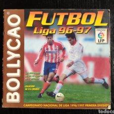 Coleccionismo deportivo: ALBUM BOLLYCAO FUTBOL LIGA 96-97 INCOMPLETO. Lote 233386655