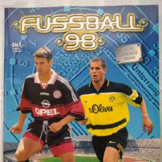 Coleccionismo deportivo: ÁLBUM PANINI FUSSBALL 98. LIGA 97/98 ALEMANA. INCOMPLETO.. Lote 233738035