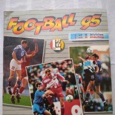 Coleccionismo deportivo: ÁLBUM FOOTBALL 95 LIGA BELGA, PANINI BELGIQUE. CASI COMPLETO (SOLO FALTAN 20 CROMOS DE 483).. Lote 233739960