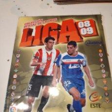 Coleccionismo deportivo: M-4 ALBUM PANINI ESTE 2008 2009 08 09 VER FOTOS PARA ESTADO Y CROMOS. Lote 233743120