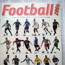 Coleccionismo deportivo: ÁLBUM FOOTBALL 2006. PANINI BELGIQUE. INCOMPLETO.. Lote 233743190