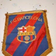 Coleccionismo deportivo: M-4 BANDERIN BALONCESTO FUTBOL CLUB BARCELONA. Lote 233757750