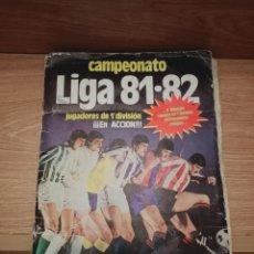 Colecionismo desportivo: EDICIONES ESTE LIGA 81/82. Lote 234556120