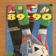 Coleccionismo deportivo: LIGA 89 90 FUTBOL EDICIONES ESTE ALBUM DE CROMOS VACIO PLANCHA EN PERFECTO ESTADO. Lote 234639820