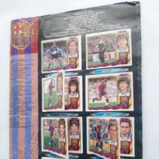 Coleccionismo deportivo: ALBUM LIGA 1995 1996 95 96 CONTIENE 420 CROMOS FALTAN TAPAS Y ALGUNA HOJA LEER DESCRIPCION. Lote 235383620