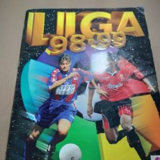 Coleccionismo deportivo: ALBUM EDICIONES ESTE LIGA 98 / 99 - 1998 / 1999 CON 29 FICHAJES. Lote 235437580