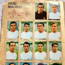 Coleccionismo deportivo: ALB-85. CAMPEONATO DE LIGA FUTBOL 1967-1968. 320 CROMOS. FALTAN 2. TODAS LAS PÁGINAS FOTOGRAFIADAS.. Lote 236554510