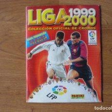 Coleccionismo deportivo: ALBUM LIGA 1999 2000 PANINI CON 341 CROMOS - LFP FUTBOL 99 00. Lote 237185135