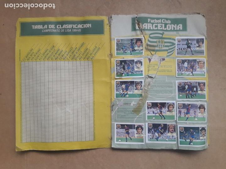 Coleccionismo deportivo: ALBUM CROMOS LIGA FÚTBOL 1984 1985 LIGA ESTE 84 85 - Foto 2 - 240485090