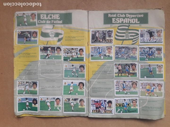 Coleccionismo deportivo: ALBUM CROMOS LIGA FÚTBOL 1984 1985 LIGA ESTE 84 85 - Foto 4 - 240485090