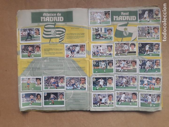 Coleccionismo deportivo: ALBUM CROMOS LIGA FÚTBOL 1984 1985 LIGA ESTE 84 85 - Foto 6 - 240485090