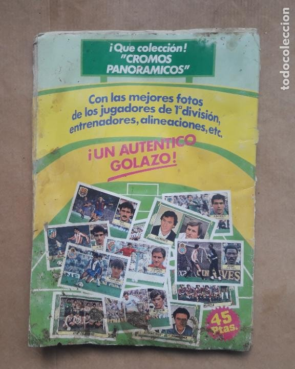 Coleccionismo deportivo: ALBUM CROMOS LIGA FÚTBOL 1984 1985 LIGA ESTE 84 85 - Foto 15 - 240485090